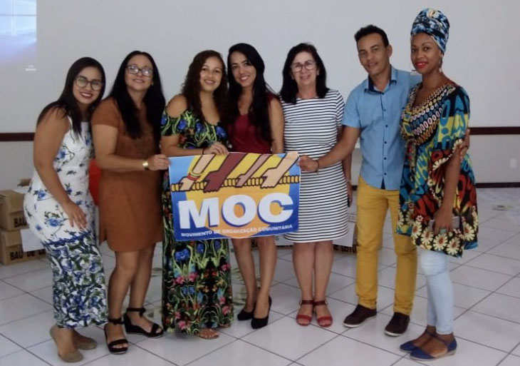 Educadores de Baixa Grande participam de capacitação promovida pelo MOC