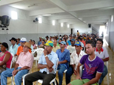 STTR Baixa Grande realiza plenária para discutir o projeto parceiros da terra em Baixa Grande