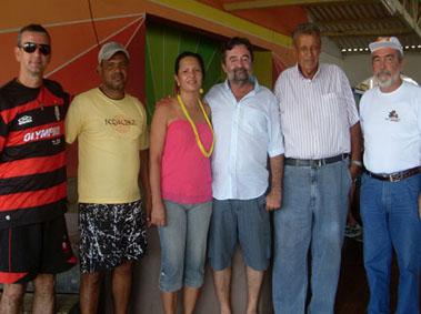Confraternização com a Prefeitura de Baixa Grande e Macajuba
