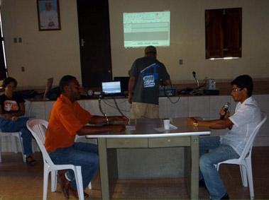 Adapta Sertão realiza oficina de radiojornalismo com comuicadores da Baixa Grande FM