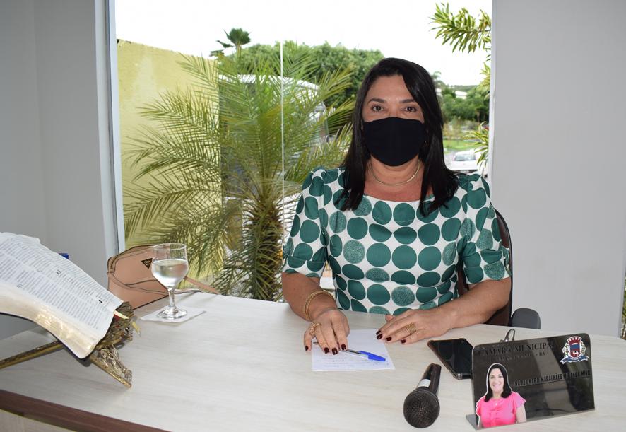 Vereadora Najinha posta vídeo falando sobre ilícito em licitação de Baixa Grande