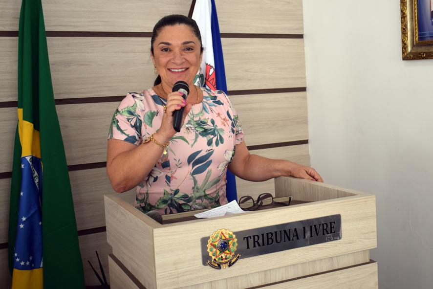 Em discurso na câmara, vereadora Najinha volta a criticar a saúde de Baixa Grande