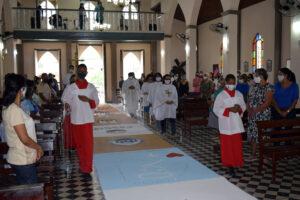 Missa de Corpus Christ em Baixa Grande