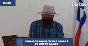 Vereador Roque, Claudio Cajado