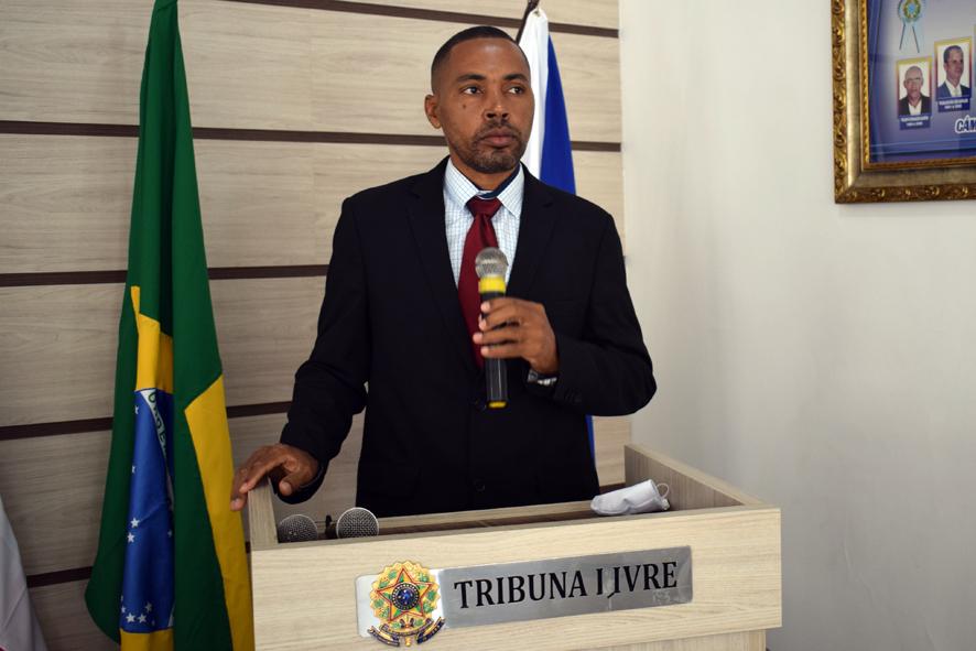 Léo do Mandacaru reforça na Tribuna Livre o pedido de Agente de Saúde para Lagoa do Mandu