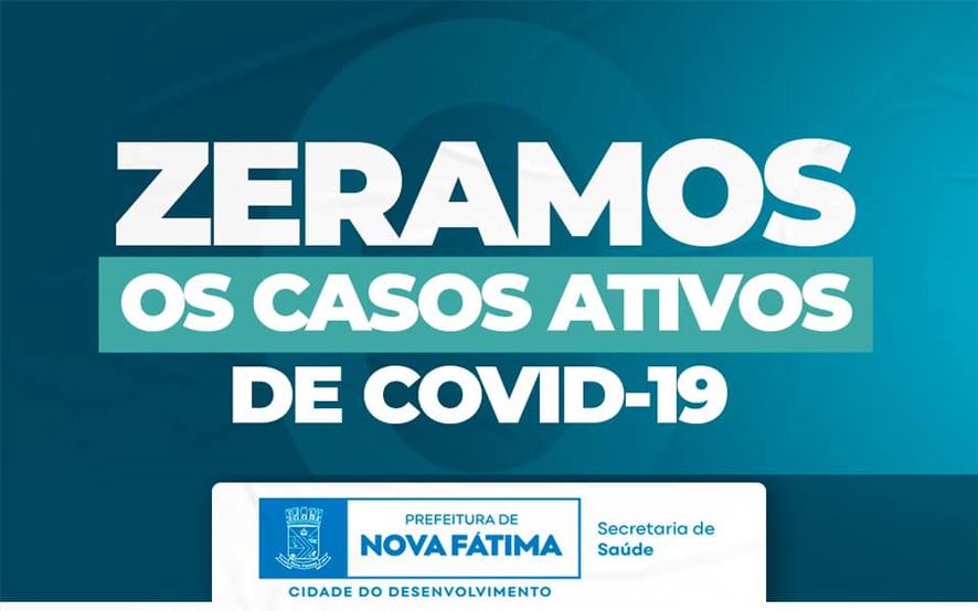 Mais um município da Bacia do Jacuípe informa que zerou os casos ativos para a Covid-19