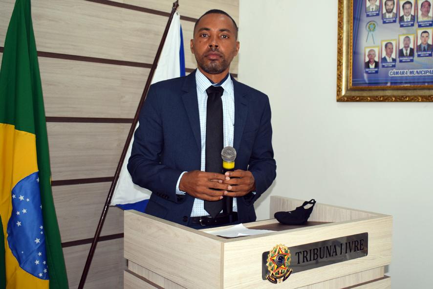 Discurso do Vereador Léo do Mandacaru na sessão da Câmara de Baixa Grande, 19 de março de 2021
