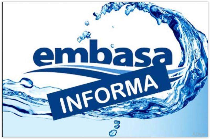 Abastecimento de água será interrompido quinta-feira (26/8) em Riachão do Jacuípe, Pé de Serra, Gavião, Nova Fátima