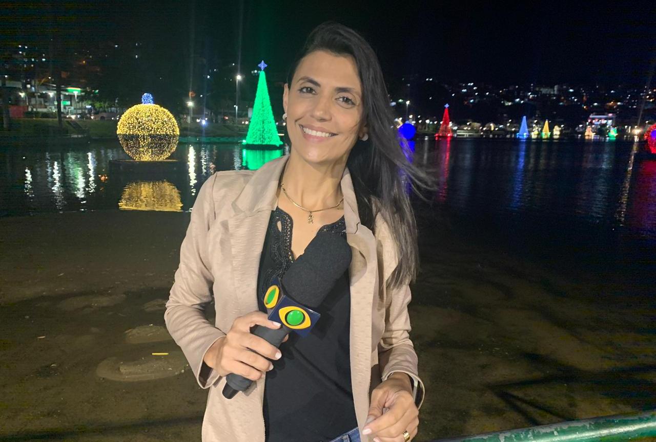 Milene Rios de Capim Grosso é a nova contratada da TV Band Bahia