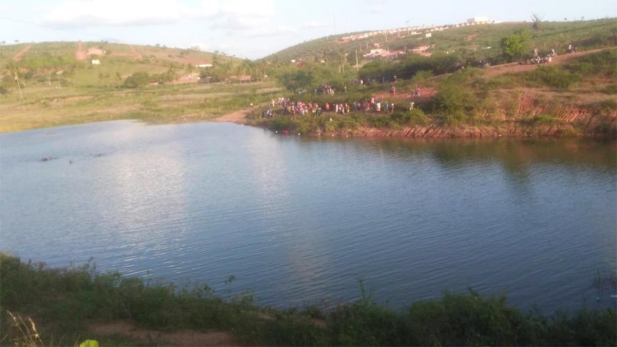 Adolescente de 13 anos desaparece no açude da Pecuária após se afogar, em Baixa Grande