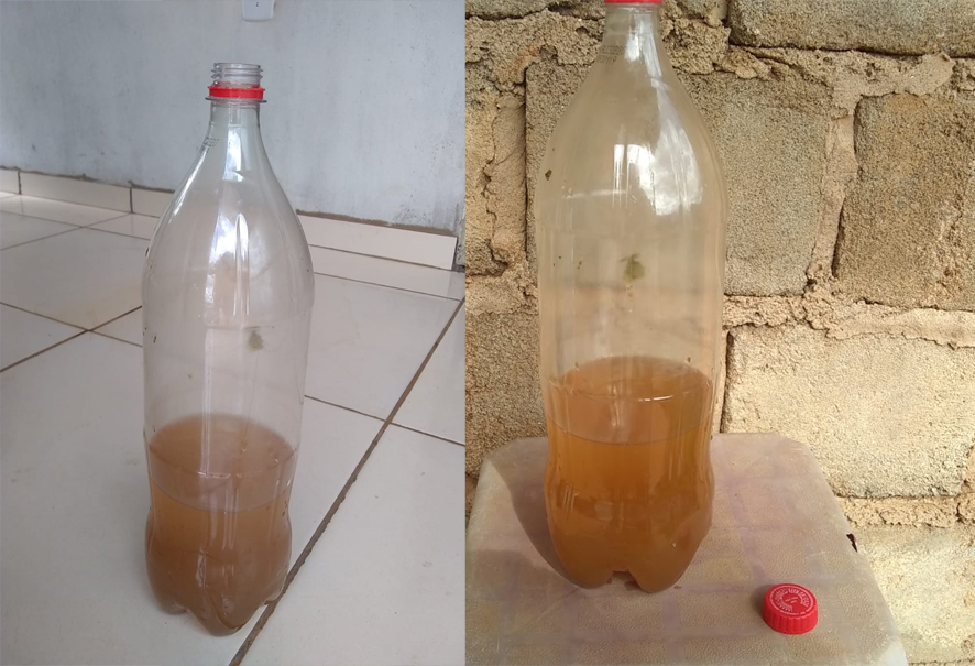 Internauta denuncia má qualidade da água da Embasa e Baixa Grande