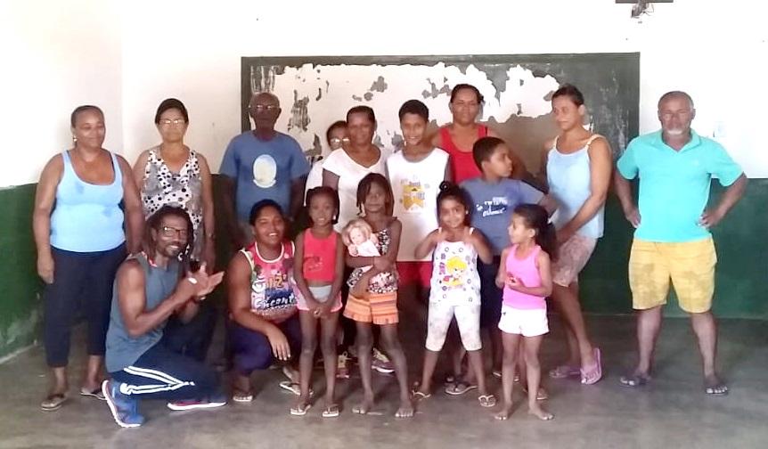 Equipe Volante do CRAS promove aulas de Educação Física no Povoado da Massaranduba, em Baixa Grande
