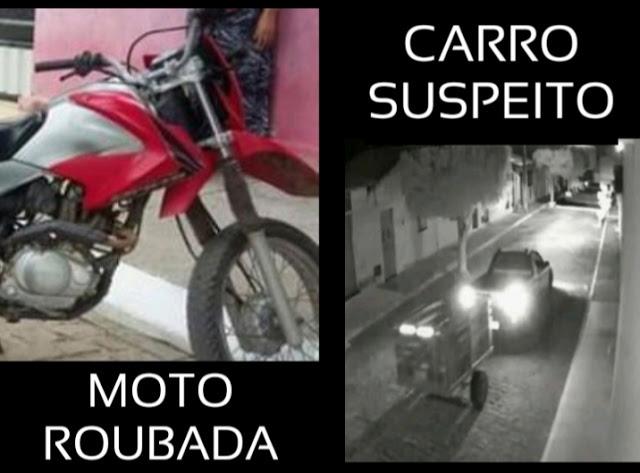 Moto Bros é roubada no povoado de Mandacaru, município de Baixa Grande