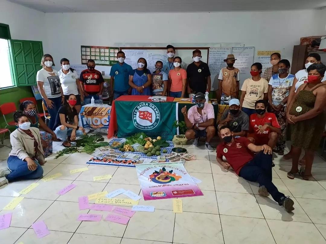 Em parceria do STTR Baixa Grande, MOC promove Diagnóstico Comunitário Participativo na comunidade de Lagoa Queimada