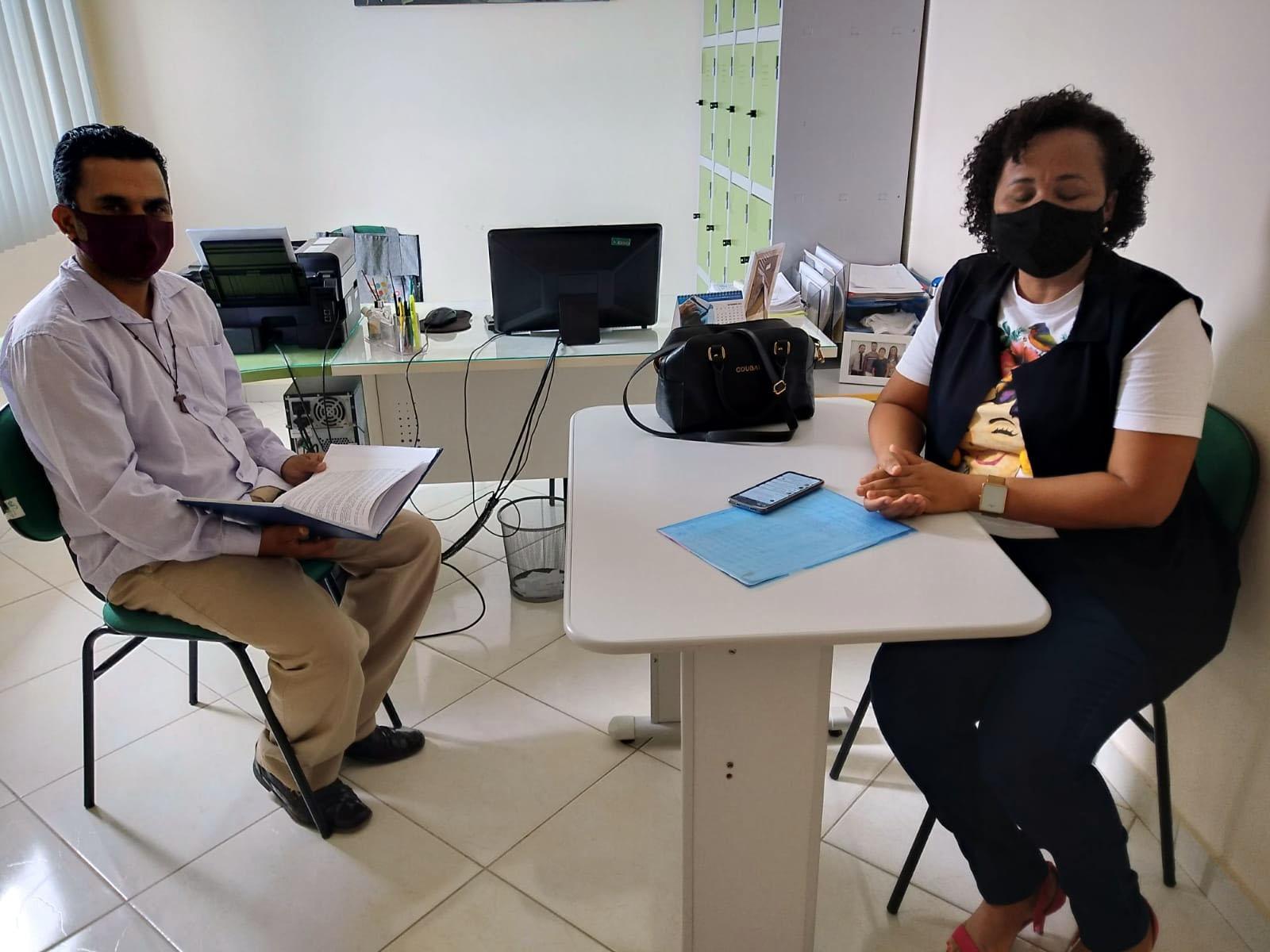 Vereador Beto visita a Secretaria de Educação do Município de Capela do Alto Alegre