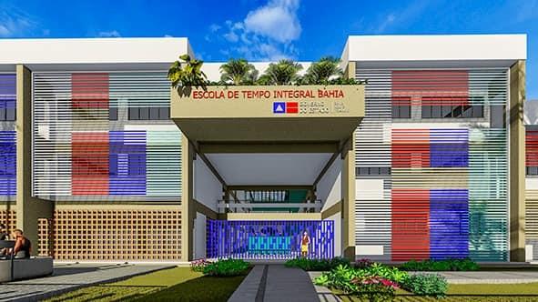 Capim Grosso | Licitação para início das obras do novo Colégio Edna foi publicada no Diário Oficial do Estado