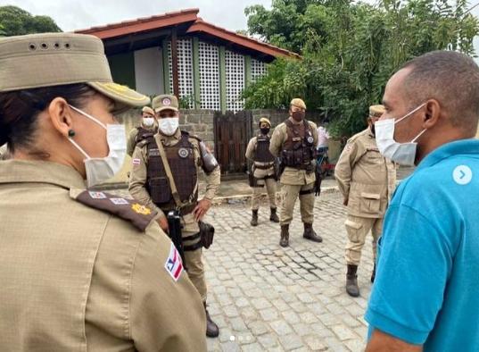 90ª CIPM Riachão do Jacuípe realiza ato em homenagem a Policial Militar transferido para a reserva remunerada