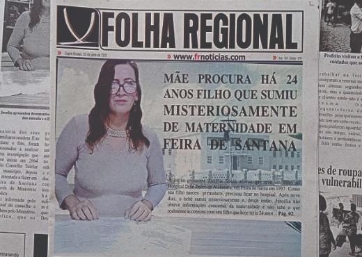 Moradora do Bairro Planaltino em Capim Grosso procura há 24 anos filho que sumiu misteriosamente de maternidade em Feira de Santana
