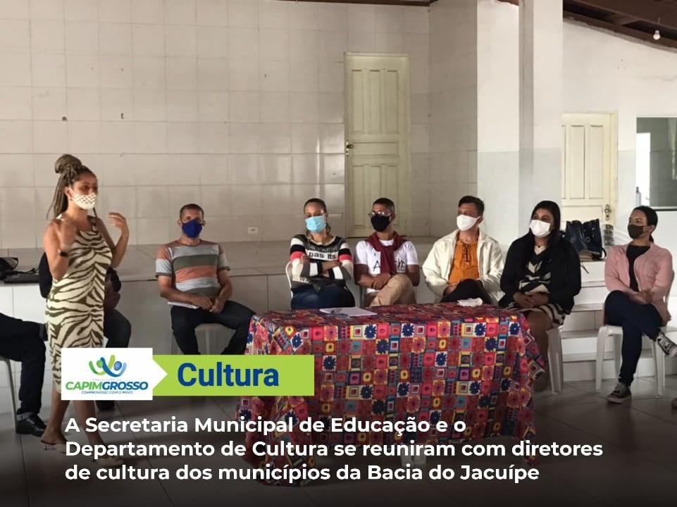 Departamento de Cultura de Capim Grosso promove encontro territorial