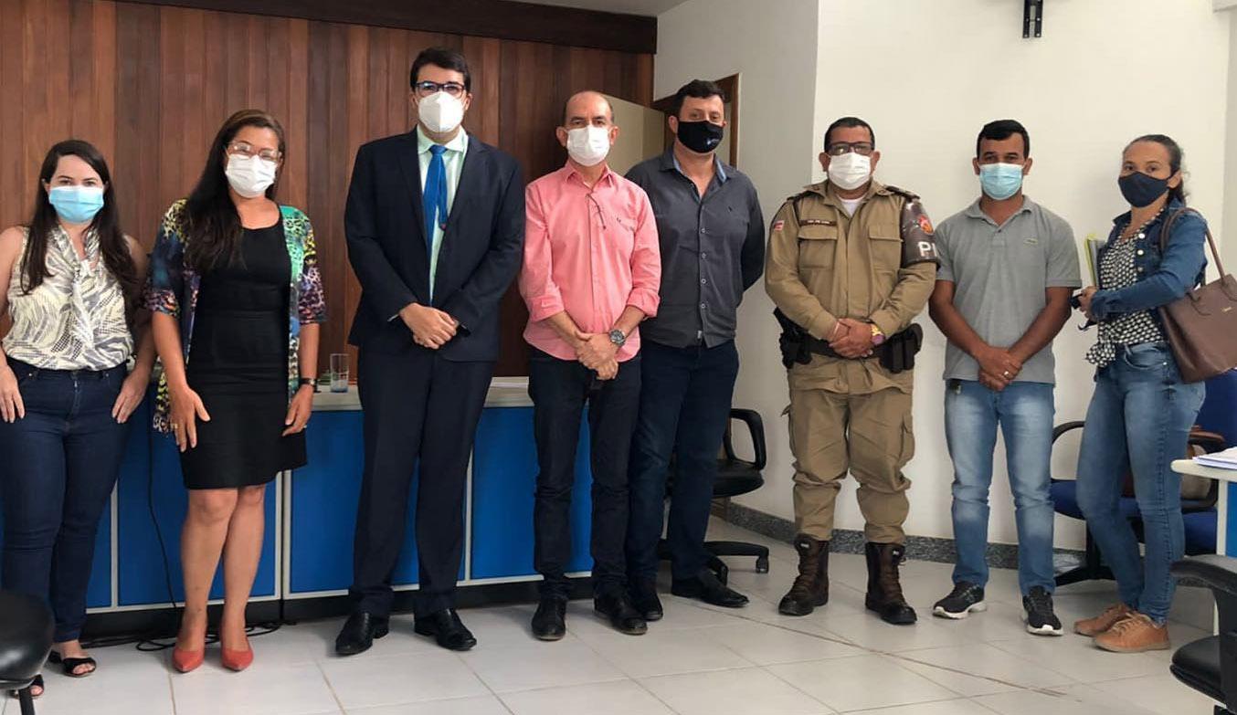 O trabalho segue firme na segurança em Capela do Alto Alegre