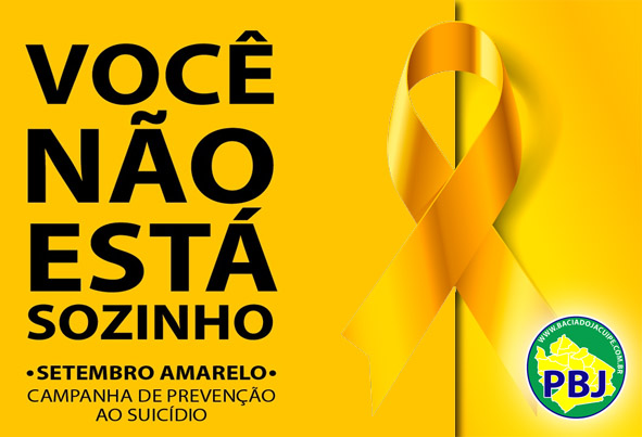 Com atendentes do comércio de Baixa Grande, Portal Bacia do Jacuípe cria vídeo de campanha ao 'Setembro Amarelo'