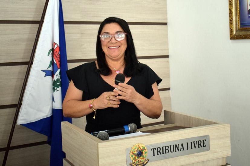 Discurso da Vereadora Nadja Nara (Najinha) na sessão da Câmara de Baixa Grande, 24 de setembro de 2021
