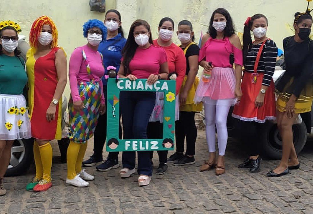 """Capela do Alto Alegre   Assistência Social, finalizou hoje as atividades da """"Semana da Criança"""" no bairro do Açude"""