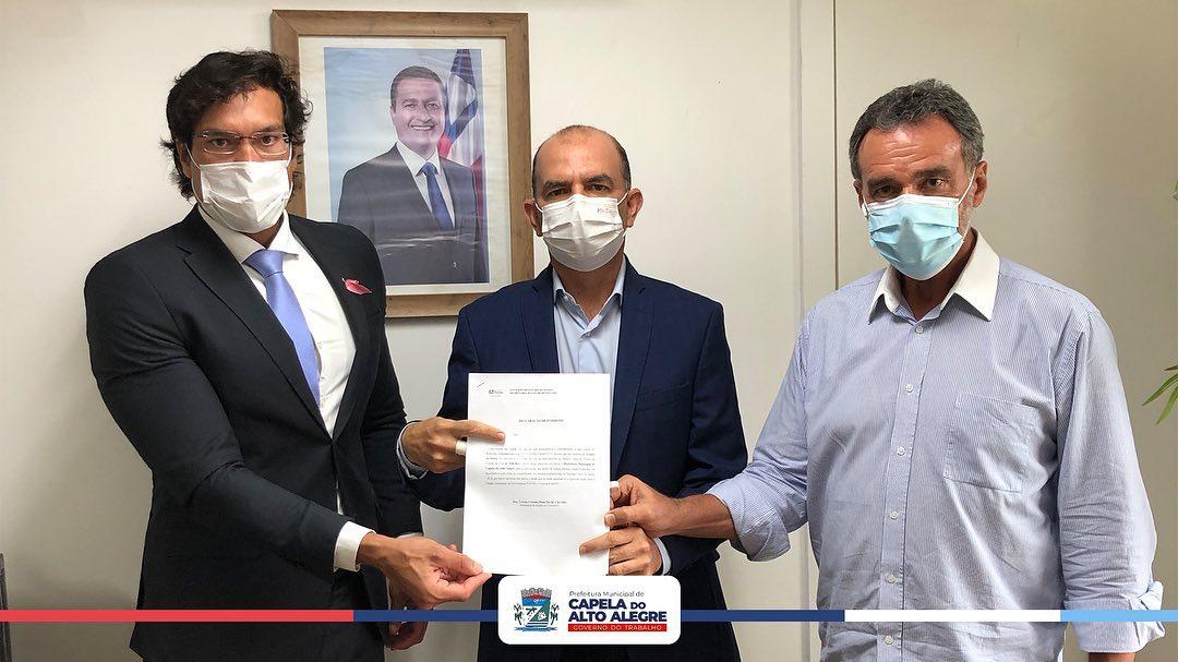 Mais ações em prol da saúde de Capela do Alto Alegre