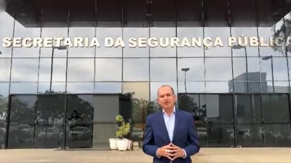 Prefeito de Capela do Alto Alegre participa de reunião na Secretaria de Segurança Pública