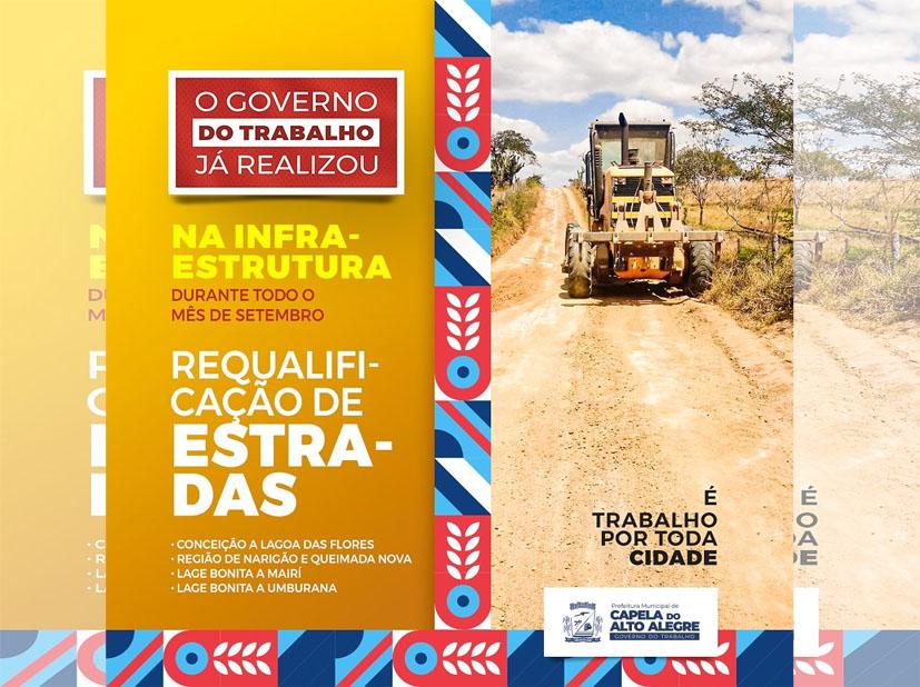 Em Capela do Alto Alegre | O Governo do trabalho já realizou!!!