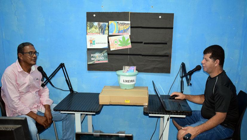 Ex vereador Elias Ferreira participa do programa Nossa Gente, Nossa Cultura da TV Bacia do Jacuípe
