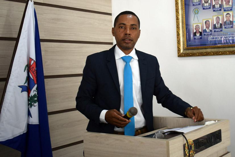 Discurso do Vereador Léo do Mandacaru na sessão da Câmara de Baixa Grande, 08 de outubro de 2021
